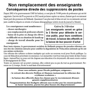 tract remplacants
