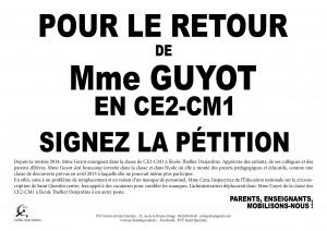 affiche mme guyot