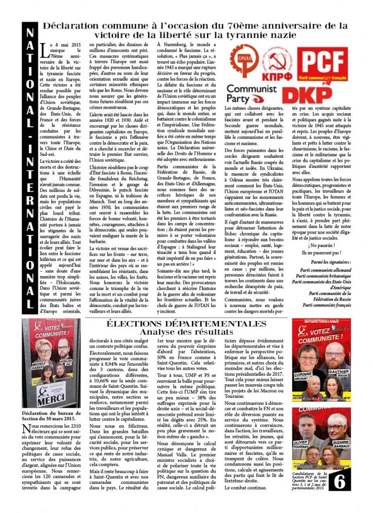 eveil 8 pages juin 20156