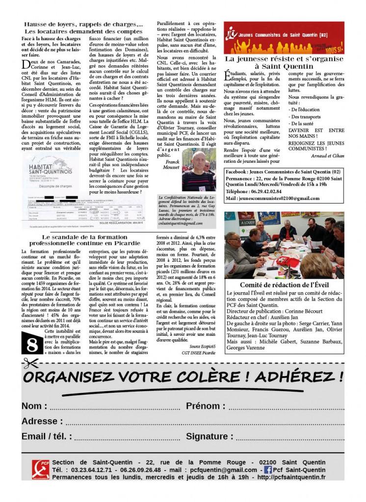 eveil 8 pages juin 20158