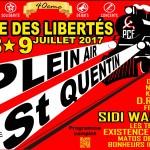 40éme FËTE DES lIBERTES 8 et 9 juillet à St Quentin-Entrée gratuite