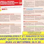 NOUS RELAYONS LE TRACT CONFEDERAL DE LA CGT