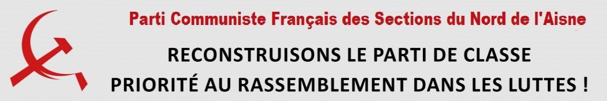 Parti Communiste Français des Sections du Nord de l'Aisne 02