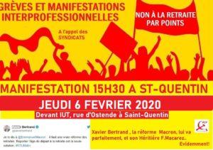 Jeudi 6 février 15h30 rue d'Ostende à Saint-Quentn